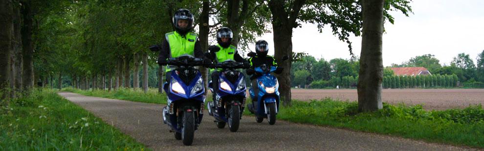 Bromfietsrijbewijs halen Nijmegen|Cuijk|Boxmeer